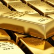 Stacks of gold bars — Stock Photo #18514713