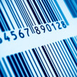 Macro view of barcode — Stok fotoğraf #7576837