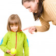 Mother and little daughter — Stock Photo #1084276
