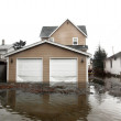 Flood in Seattle area, usa, Washington — Stock Photo #1072481