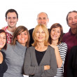 Caucasian Family, Group of — Stock Photo #4674121