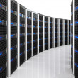 Server 3d background — Stock Photo #4822463