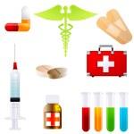 Set of medical icons — Stock Photo #4164436