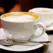 Cup of coffee cappuccino — Stock Photo #4974405
