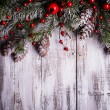 Christmas border design — Stock Photo #30872599