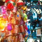 Typical Tuskish Lanterns on sale — Stock Photo #38598505
