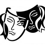 Theater masks — Stock Photo #1127055