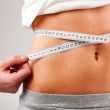 Measuring waist — Stock Photo #6075968