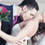 unga bröllop par — Stockfoto #4698273