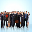 Young attractive business - the elite business team — Stock Photo #4304602