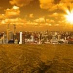 Singapore skyline — Stock Photo #4375689