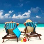 Couple on a beach — Stock Photo #24791765