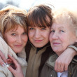 Grandmother, daughter and grand daughter — Stock Photo #7424024