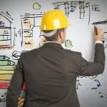 Construction engineer — Stock Photo #42383293