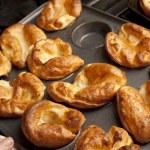 Traditional English Yorkshire puddings — Stock Photo #50680287