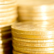 Coins macro close up background — Stock Photo #3191027