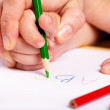 Learn to write — Stock Photo #11541001