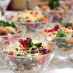 Meat salad — Stock Photo #1377758