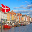 Copenhagen (Nyhavn district) in a sunny summer day — Stock Photo #8399712