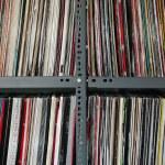Vinyl records storage — Stock Photo #10620179