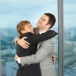 Friendship and pleasure on work — Stock Photo #3991768