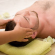 Man in massage — Stock Photo #1690397
