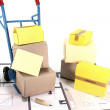 Move with boxes — Stock Photo #8121523