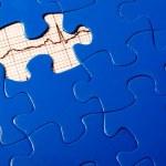 EKG Puzzle — Stock Photo #1713986