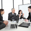 Businesspeople having a business meeting — Stock Photo #10422040