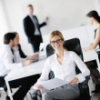 Business in a meeting at office — Stock Photo #10705733