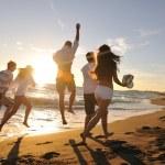 Beach party — Stock Photo #4384584