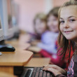 It education with children in school — Stock Photo #4400261