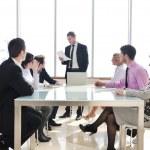 Grupo de negocios en reunión — Foto de Stock   #5196723