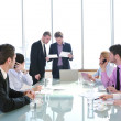 Group of business at meeting — Stock Photo #5687412
