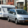 Car and caravan — Stock Photo #3166837