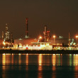 Factory big refinery in night. — Stock Photo #1643829
