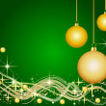 Green Christmas Background — Stock Photo #1741199