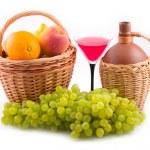 Green tasty grapes — Stock Photo #1771786