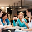 Group of young women on coffee break — Stock Photo #28286009
