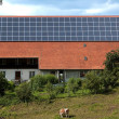 Solar panels in the nature — Stock Photo #1898807