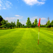 Golf course — Stock Photo #6295617
