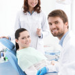 Ready for treatment of carious teeth — Stock Photo #12418348