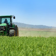 Green tractor . — Stock Photo #2870475
