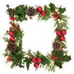Christmas Decorative Border — Stock Photo #13374661