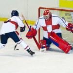 Hockey player — Stock Photo #15684611