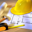 Home planning — Stock Photo #10302486