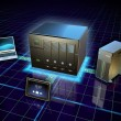 Network attached storage — Stock Photo #49745601