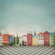 Colorful toy town. — Stock Photo #9088798