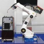 Robotic arm welder — Stock Photo #30865207