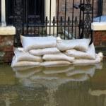 York flooded street — Stock Photo #14564261